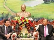 本扬·沃拉吉高度评价胡志明国家政治学院与老挝政治行政学院的合作成果
