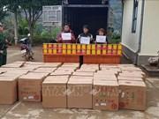 临近春节非法运输鞭炮案高发  越南边境地区抓获多名涉案人员