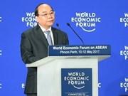 越南政府总理阮春福出席WEF Davos 2019: 巩固有利于国家发展的国际环境