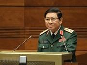 越南高级军事代表团出席老挝人民军成立70周年