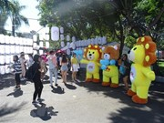 """题为""""紧握着手""""的第六次日越文化节正式开幕"""