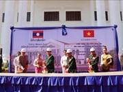 越南国防部援助老挝升级改造人民军队博物馆