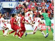 Fox Sports Asia对越南球员出色表现给予极高评价