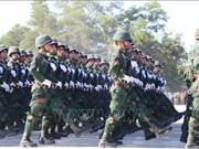 老挝隆重举行人民军建军70周年纪念集会