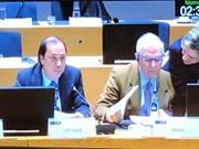 东盟与欧盟承诺加强全面合作
