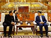 河内希望扩大与泰国在多个领域的合作