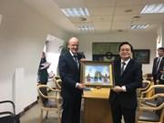 越南与英国加强教育合作