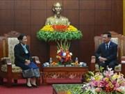 老挝华潘省代表团走访和平省并提前拜年
