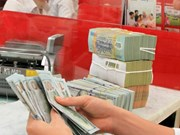 23日越盾兑美元中心汇率保持稳定