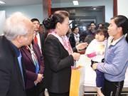 越南国会主席阮氏金银看望中央儿童医院癌症儿童并赠送慰问品