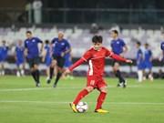 国际专家高度评价越南球员阮光海的球技