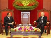 阮富仲会见泰国副首相兼国防部长巴拉维