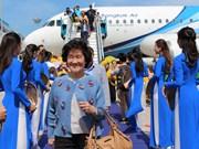 泰国曼谷至越南庆和省金兰航线今日首飞