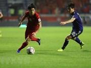 2019年阿联酋亚洲杯1/4决赛:主教练朴恒绪对越南球员的表现感到骄傲