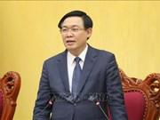 政府副总理王廷惠莅临海防和北宁考察当地吸引外资情况