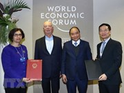 裴青山: 阮春福成功出席WEF Davos为2019年越南对外工作释放积极信号