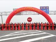 阮春福总理出席兴河大桥通车剪彩仪式