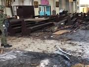 越南强烈谴责发生在菲律宾苏禄省的恐怖袭击事件