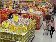 2019年1月河内市消费者物价指数增长0.22%