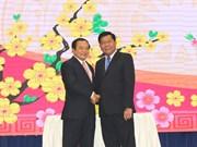 隆安省与柬埔寨柴桢和波罗勉两省加强合作