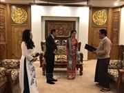 越南政府总理特使、外交部副部长阮国勇访问缅甸