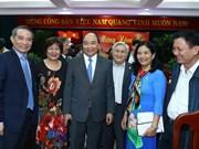 越南政府总理阮春福走访慰问中部地区历代领导
