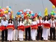 安江省新安桥竣工通车 助推越柬经贸发展