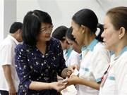 国家副主席邓氏玉盛出席越南共产党建党89周年庆祝活动
