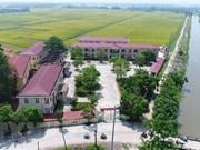 2019年越南全国努力增加70个达到新农村建设标准的县