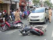 2019年己亥年春节假期前三天交通事故死亡人数62人