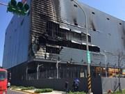 台湾桃园一厂房发生大火事故:努力确保越南劳动者的正当权利