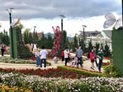 大年初三大叻市接待游客量激增