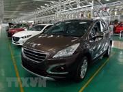 2018年越南汽车销量较2017年增长5.8%