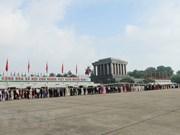 春节期间胡志明主席陵接待游客量达4.7万多人次