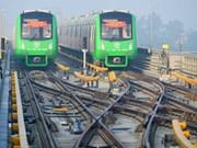 河内轻轨吉灵—河东线项目预计将于2019年4月正式投产运行