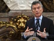 阿根廷总统马克里即将对越进行国事访问 强化越阿全面伙伴关系
