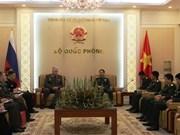 越南与俄罗斯军队加强合作