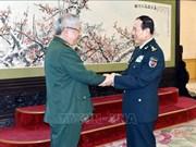 越南国防副部长阮志咏访问中国