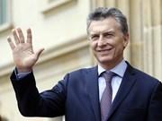 阿根廷总统开始对越南进行国事访问
