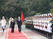 阿根廷总统毛里西奥·马克里对越南进行国事访问