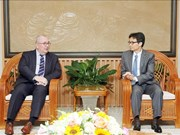 政府副总理武德儋会见比利时驻越大使保罗·詹森