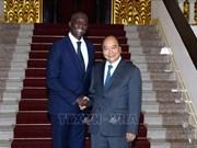 政府总理阮春福会见世行负责基础设施事务副总裁迪奥普