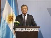 阿根廷总统:越南与阿根廷携手推进战略伙伴关系