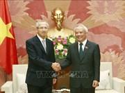 国会副主席汪周刘会见泰国最高法院代表团