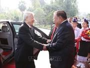 阮富仲与本扬·沃拉吉举行会谈 双方签署9项合作文件
