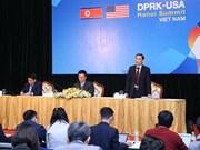 美朝领导人第二次会晤筹备工作媒体吹风会在河内举行
