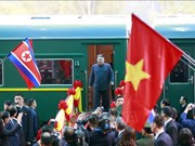美朝领导人会晤:国际媒体密集报道朝鲜最高领导人访越消息