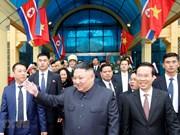 朝鲜最高领导人金正恩开始对越南进行正式友好访问