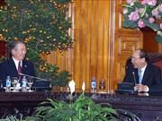 越南政府总理阮春福会见日本与湄公河经济合作委员会主席