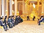 越共中央总书记阮富仲致电感谢柬埔寨国王诺罗敦